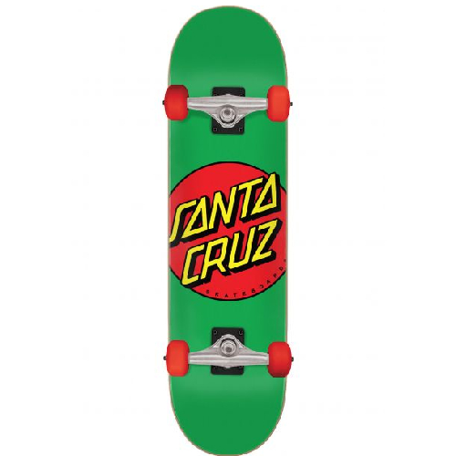 Santa Cruz Classic Dot Mid Geen 7.8 Complete