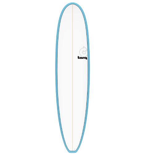 Torq Mini Longboard Blue White 8'0