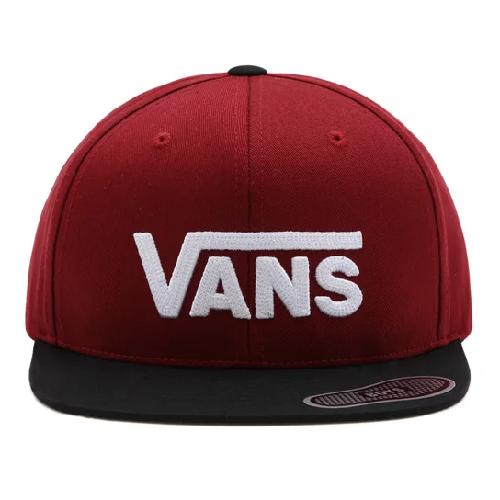 Vans Drop V II Snapback POMEGRANATE BLACK Boys
