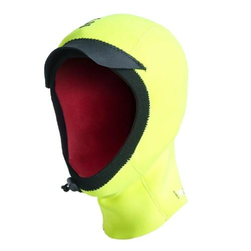 C-Skins Wired 2mm Junior Hood Flo Yellow