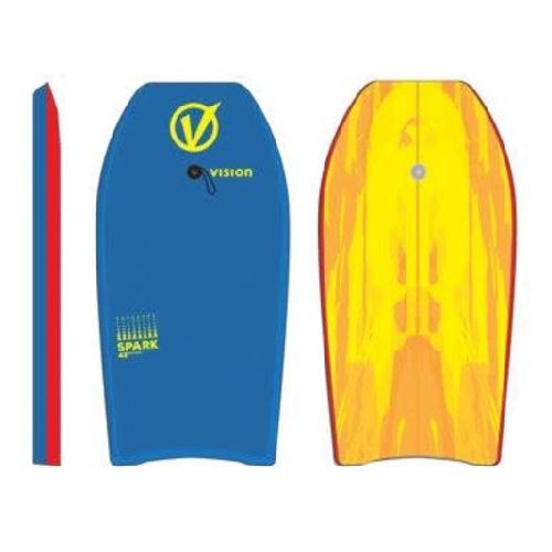 Vision Spark Bodyboard Blue Red