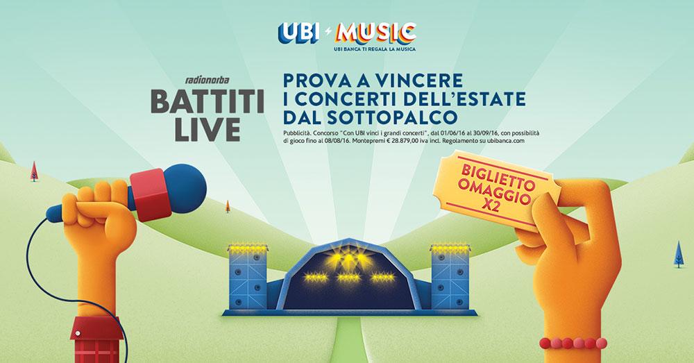 Battiti-Live UBI MUSIC