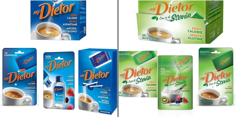 My Dietor: la gamma completa