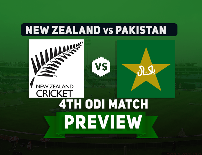 NZ vs PAK 4th ODI Dream11 Team Prediction: Preview