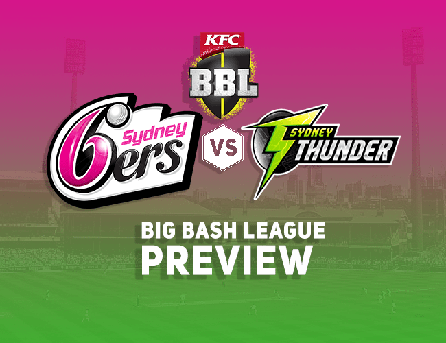 SDS vs SYT Dream11 Team Prediction, Preview: BBL