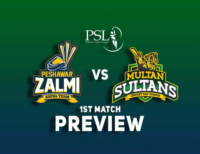 PES vs MUL PSL T20 Dream11 Team Prediction: Preview| PSL begins!