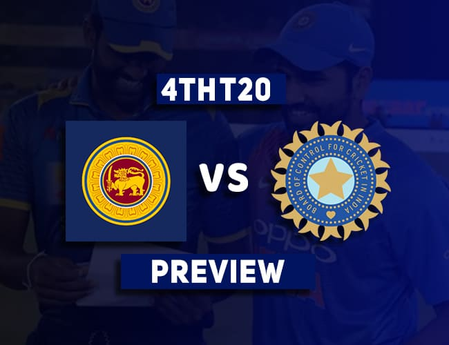 SL vs IND 4th T20I Dream11 Team Prediction and Preview  Chandimal out of the next two matches