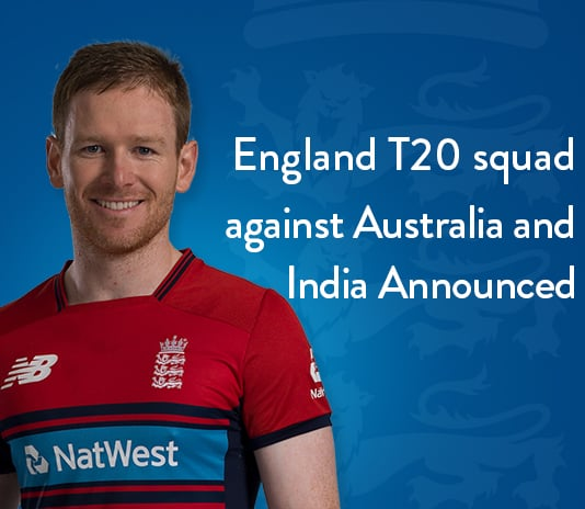 England Squad For T20 match against Australia and India