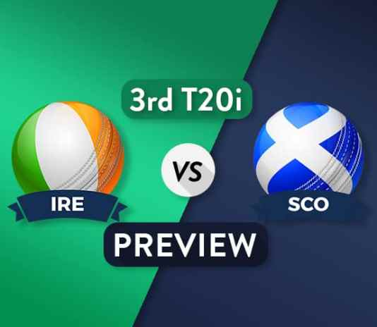 IRE vs SCO Third T20I Dream11 Team Prediction and Probable XI: Preview| Scotland enters the Tri-series