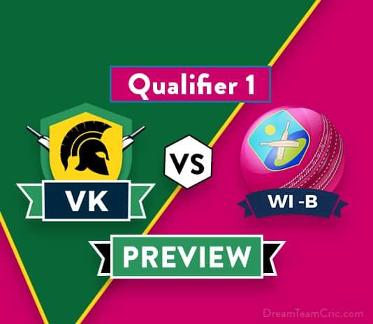 VK vs WI-B Dream11 Team Prediction and Probable XI: Preview