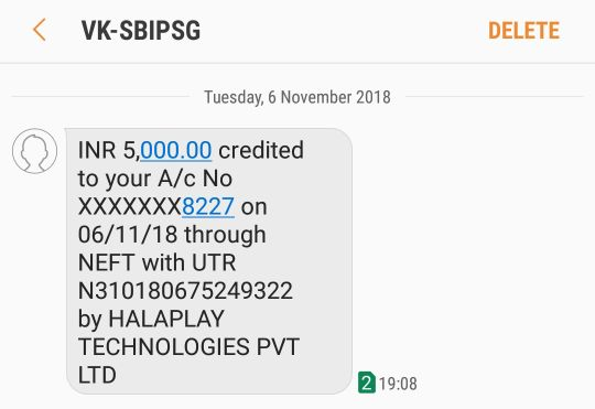 Halaplay Withdraw Proof