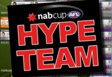 NAB Cup AFL Fantasy Hype Team
