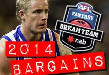 Early 2014 AFL Fantasy Bargains