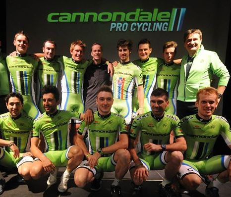 Cannondale 2014 team kit