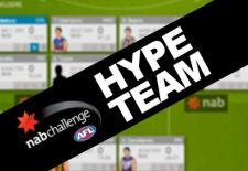 NAB Challenge AFL Fantasy Hype Team #2