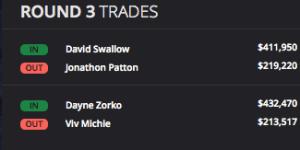 Round 3 Trades