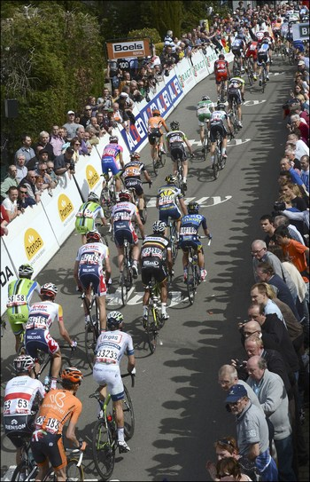 Fleche Wallonne 2013 cycling race