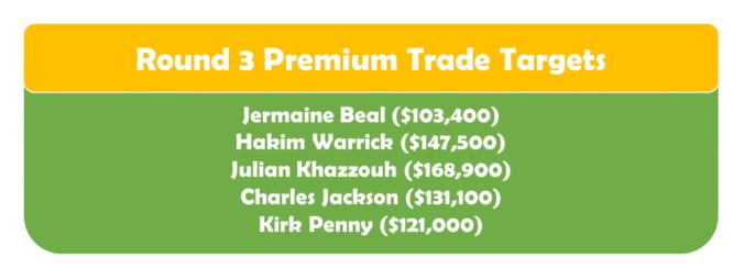 Round 3 Premium TT