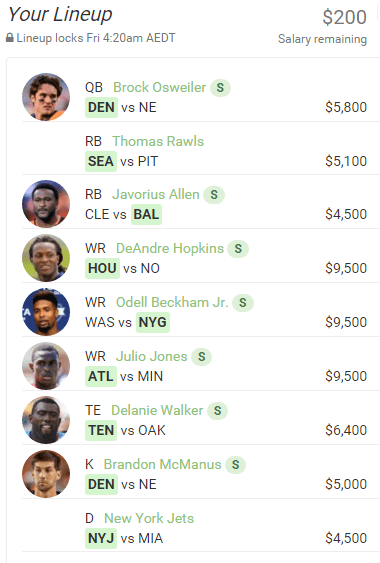 @rumballz is putting all of his money into the WR corp this week