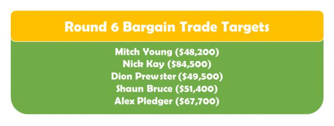 Round 6 Bargain TT
