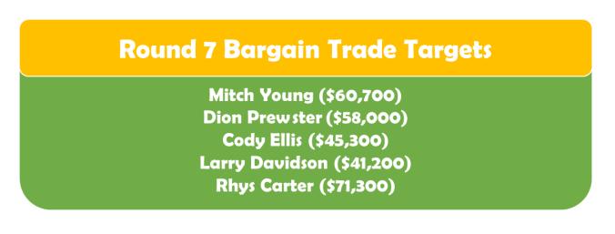 Round 7 Bargain TT