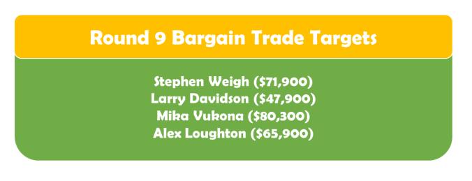 Round 9 Bargain TT