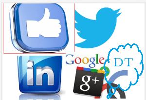 "Facebook, Twitter, Linkedin & Google Plus is equal to ""Social Networking"""