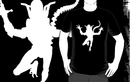 Alien Silhouette T-Shirt