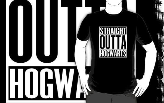 Straight Outta Hogwarts T-Shirt