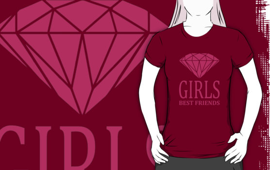Diamonds - Girls Best Friends T-Shirt