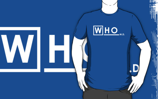 Doctor Who - Doctor House crossover T-Shirt