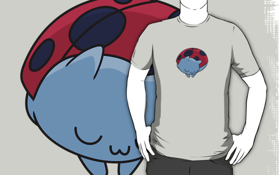 Sleeping Catbug T-Shirt