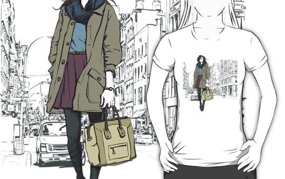 Girl In Town T-Shirt