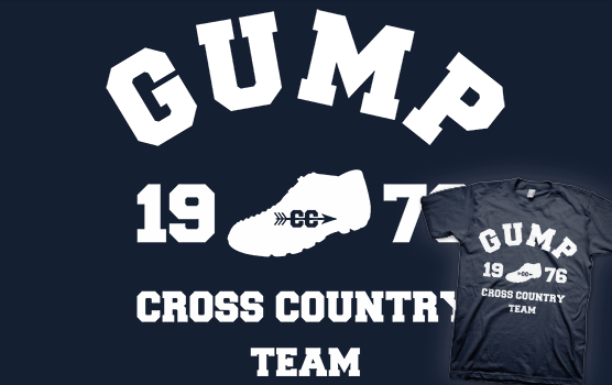 Forest Gump - Cross Country Team T-shirt
