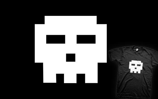 02-Scott-Pilgrim---Pixel-Skull-T-shirt