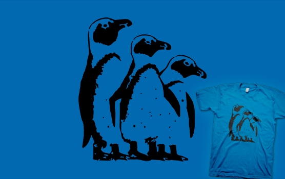 John McVie T-shirt - Three Penguins
