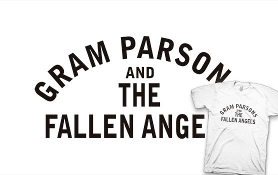 Gram Parsons Tishirt - Fallen Angels