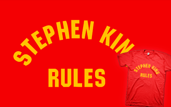 Stephen King Rules T-shirt - The Monster Squad