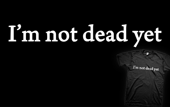 David Hasselhoff T-shirt - I'm Not Dead Yet