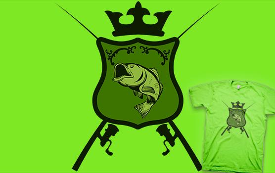 Fisherman's heraldic shield