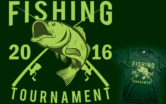 Fishing Tournament 2016 T-shirt