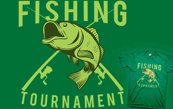 Fishing Tournament T-shirt
