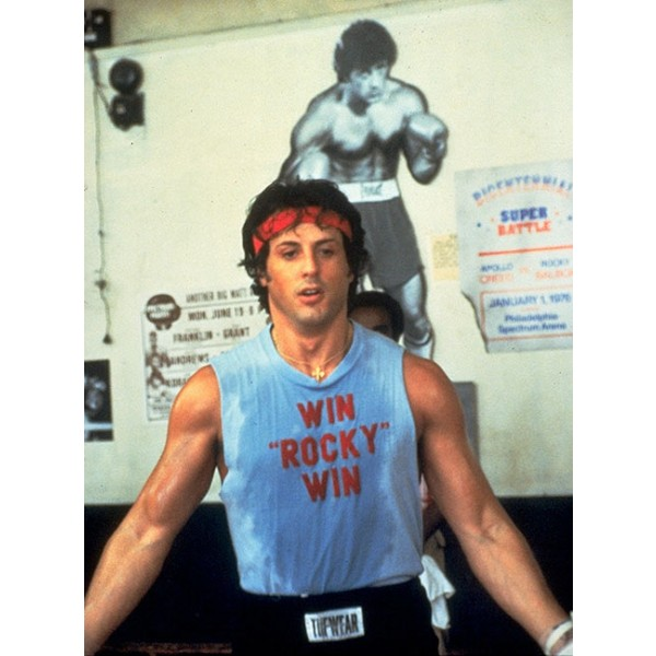 Sylvester Stallone T-shirt - Win Rocky Win