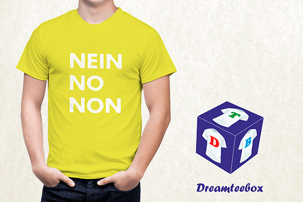 Thom Yorke T-shirt - Nein No Non
