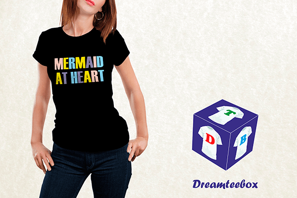 Mermaid At Heart T-shirt