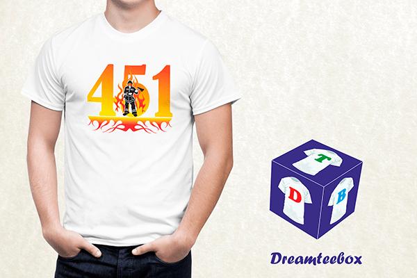 Fahrenheit 451 T-shirt