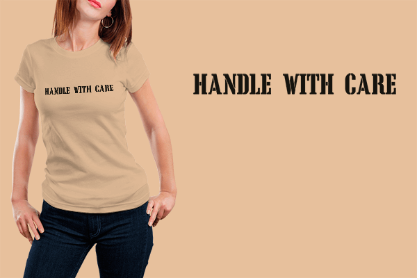 Charlie XCX - Handle With Care T-shirt