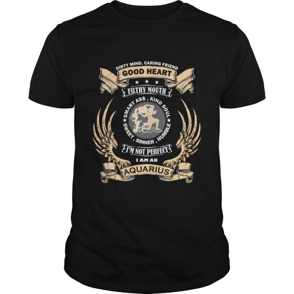 Zodiac Sign - Aquarius T-shirt