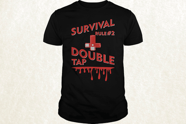 Zombieland - Survival Rule #2 - Double Tap T-shirt