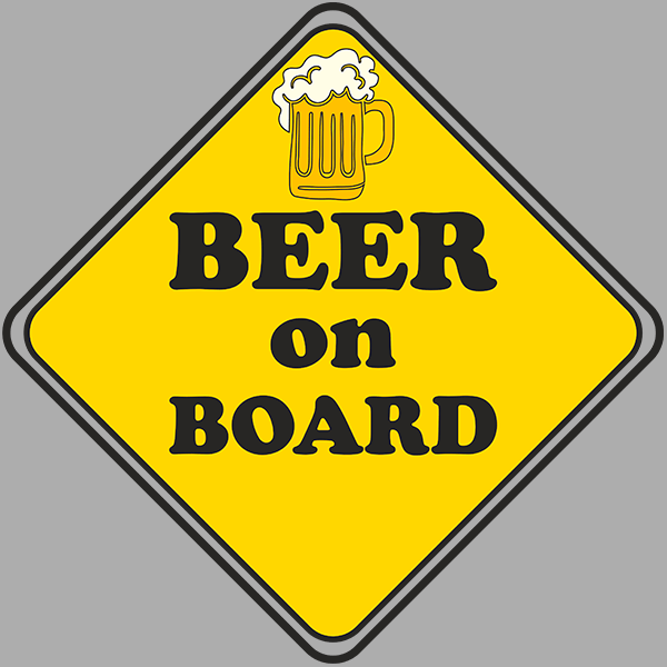 Beer on Board T-shirt